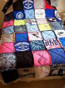 custom t shirt quilt made from your own tees made to