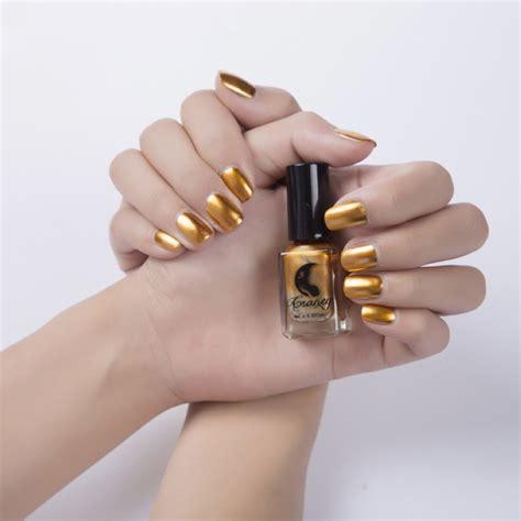 Metallic Nail Polishes by Chrome Metallic Nail Magic Mirror Effect Fashion