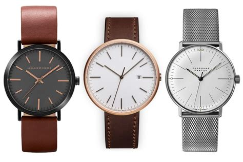 watches for men 40 best minimalist watches for men man of many