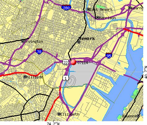 Newark Nj Records Newark Zip Code Map My
