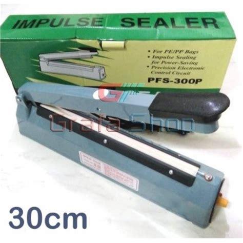 Alat Pres Plastik Semarang impulse sealer 30cm alat press plastik shopee indonesia