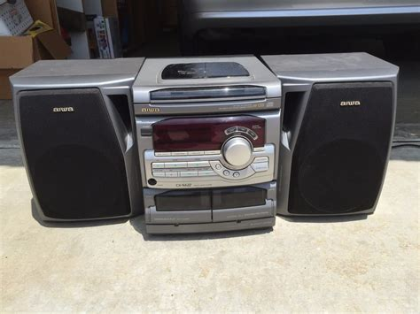 aiwa compact disc stereo system cx na22 cx na22u ebay