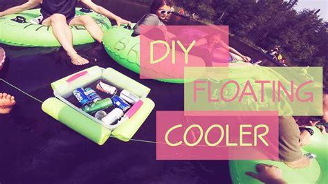 diy floating cooler diy floating drink cooler