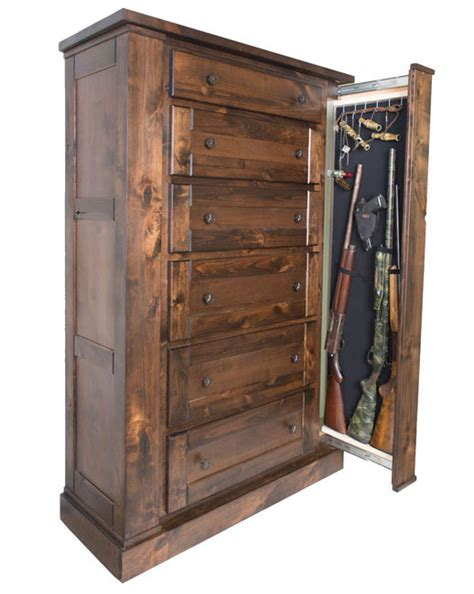 Upright Dresser by Willa Hide Tactical Drawer Chest Concealment Furniture Willa Hide
