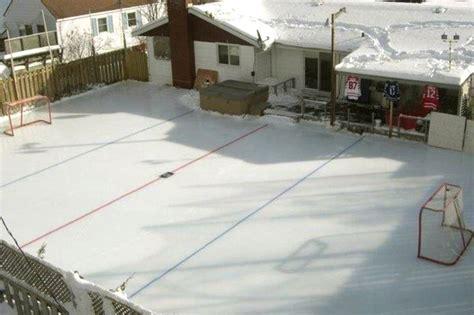 backyard rink tips best 25 backyard ice rink ideas on pinterest ice rink