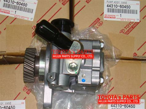 electric power steering 1997 toyota land cruiser spare parts catalogs 44310 60450 genuine power steering pump for toyota land cruiser hzj76 hzj78 hzj79