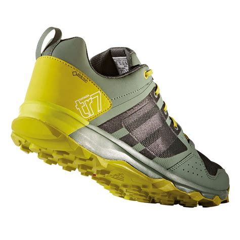yellow adidas sneakers adidas kanadia 7 mens yellow grey tex sneakers