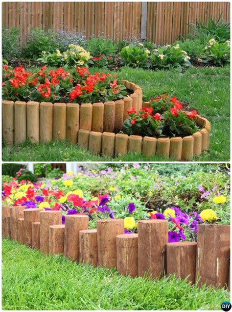 Wooden Garden Edging Ideas 20 Creative Garden Bed Edging Ideas Projects Gardens
