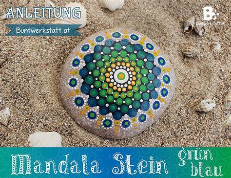 stein muster malen eine einfache anleitung zum mandala stein malen mit einem