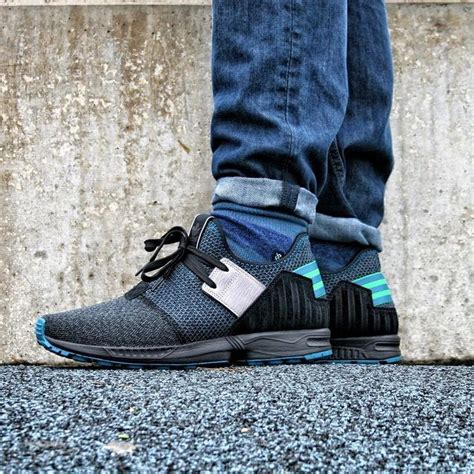 adidas originals zx flux plus exclusive foot locker colorway shoes shoe kicks footlockereu