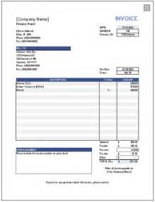 Free Invoice Template With Logo Free Invoice Template Download Software For Sharing