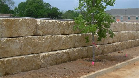 Retaining Wall Block Stone John Robinson Decor Garden Wall Blocks