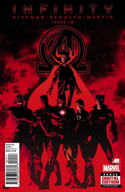 new avengers by jonathan threat level wednesday more infinity more villains more