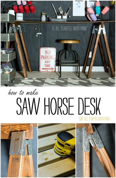 saw desk how to it all started with paint