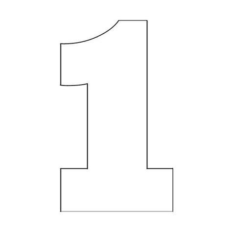 free printable number stencils 1 10 трафареты цифр для вырезания