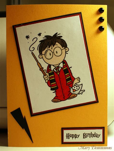 harry potter birthdays card template harry potter birthday card crafty things