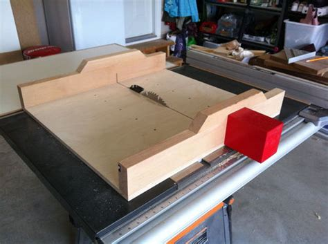 crosscut sled woodworking plans