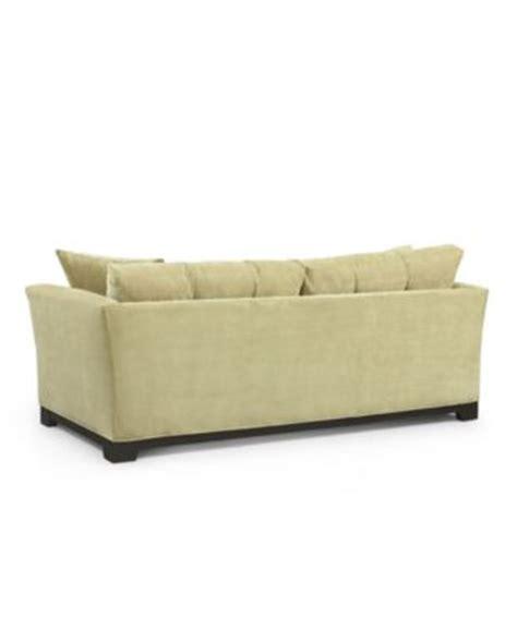 macy s elliot sofa elliot fabric microfiber sofa furniture macy s