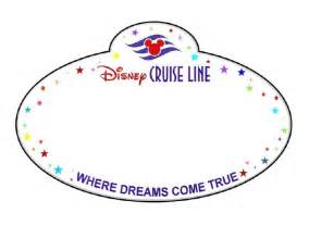 Door Name Tag Template by Dcl Name Tag Disney Cruise
