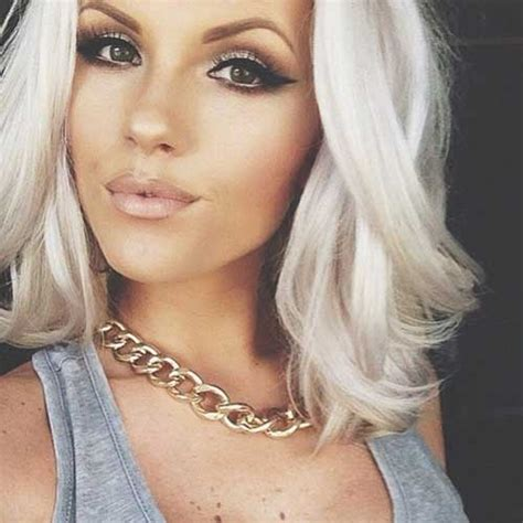 med hair woth gray n blonde medium long hairstyles 2014 2015 hairstyles haircuts