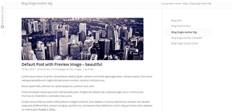 enfold theme post slider enfold premium responsive wordpress theme free demo
