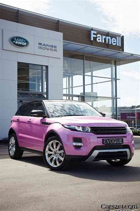 land rover pink pink range rover evoque automobile 2018 2019 2020