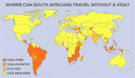 Can You Travel To Other Countries With A Criminal Record Here S Where South Africans Can Travel Without A Visa