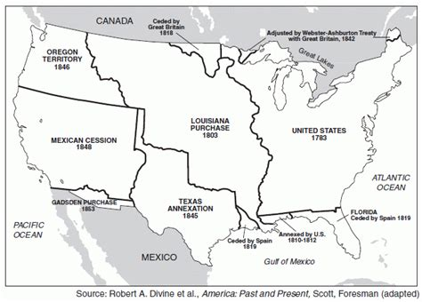 manifest destiny map manifest destiny map black and white www imgkid the image kid has it