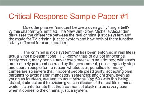 sle critical analysis essay exles critical response essay sle 28 images critical