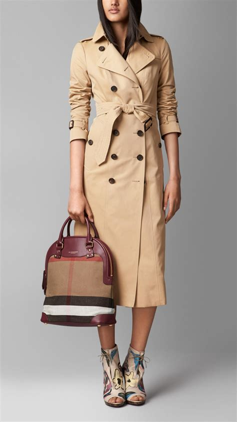 Bloomsbury Bag From Anthropologie by Burberry The Bloomsbury In Canvas Check And Leather In
