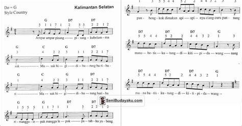 lirik lagu ampar ampar pisang beserta maknaterjemahan