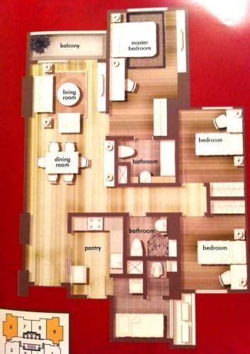layout apartemen central park jakarta jual apartemen central park residences tanjung duren 3 1