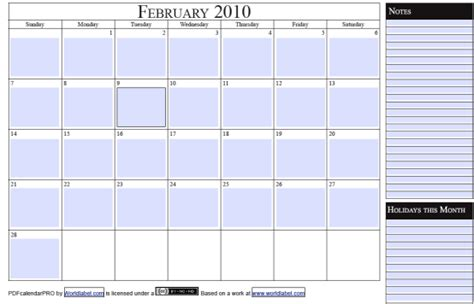 fillable weekly calendar template free 2010 fillable calender pdf pro printable template