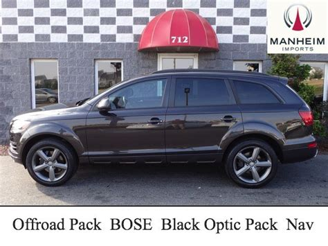 Pre Owned Audi Q7 by Pre Owned 2015 Audi Q7 3 0t Premium Plus Offroad Package