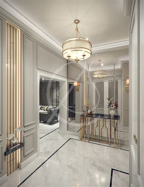 Home Interior Arch Design Modern Classic Villa Interior Design Cas