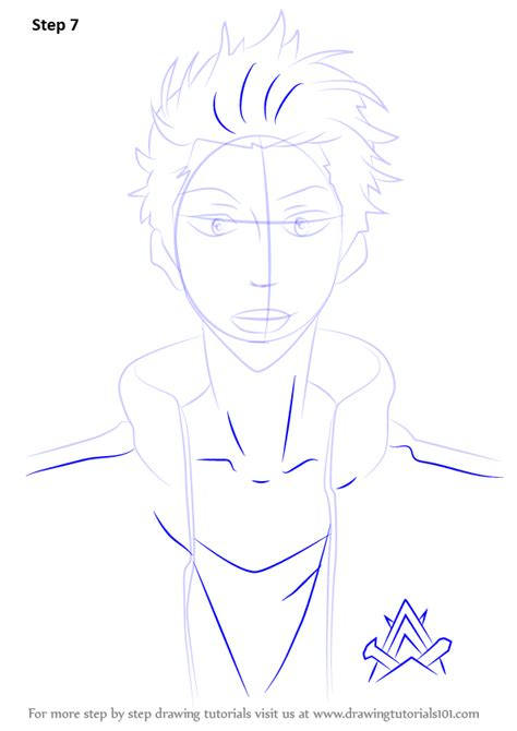 free drawing lessons step by step how to draw seijuro mikoshiba from free
