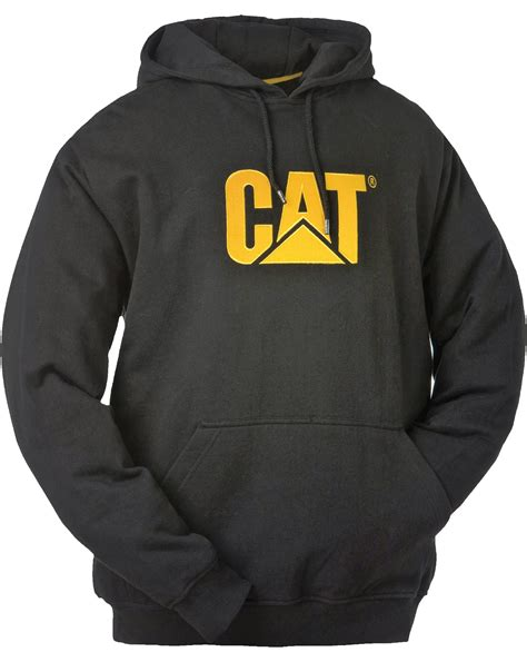Cat Hoodie caterpillar cat cw10646 trademark mens hooded sweatshirt new hoodie with pockets ebay