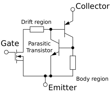 transistor vs mosfet vs igbt file igbt equivalent circuit en svg wikimedia commons