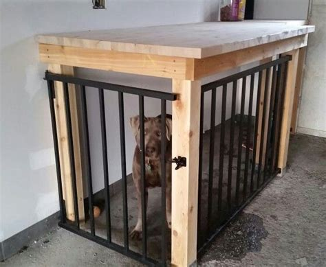 dog kennel in garage 1000 ideas about dog kennel inside on pinterest dog