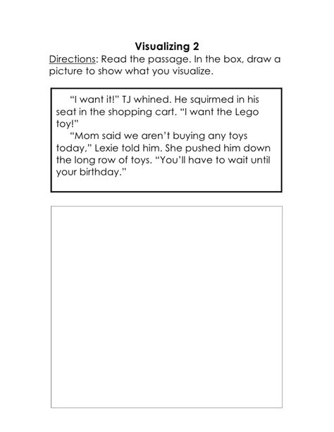 Visualizing Worksheets by Visualizing Passages And Assessments