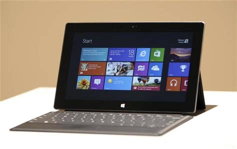 Tablet Computer photos from microsoft s surface tablet announcement time