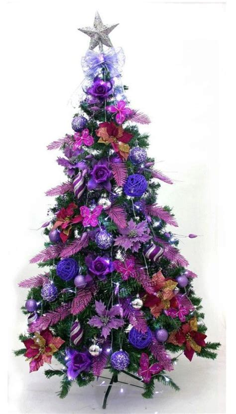 25 beautiful purple christmas tree decorations ideas magment