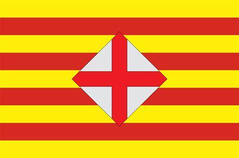 barcelona flag file flag barcelona province svg wikimedia commons