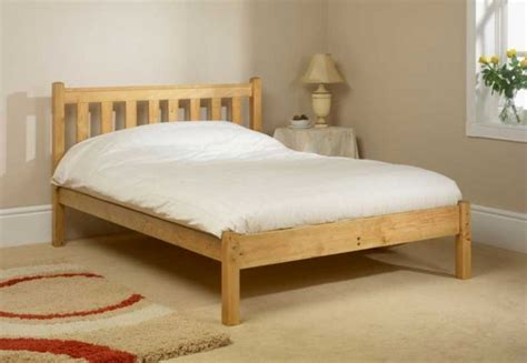 Friendship Mill Shaker Low Foot End 4ft Small Double Pine Small Wooden Bed Frame