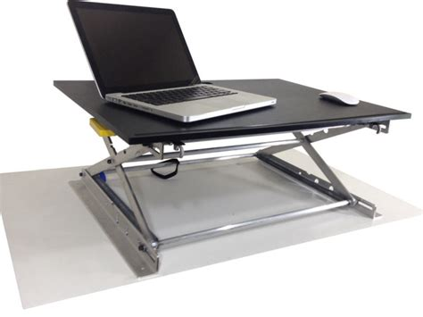 adjustable standing desk riseup table top free