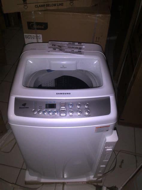 Mesin Cuci 2 Tabung Merk Samsung jual samsung mesin cuci 1 tabung otomatis seri sw 80h4000