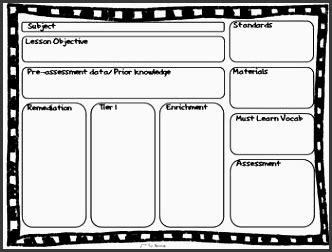 Tkes Lesson Plan Template