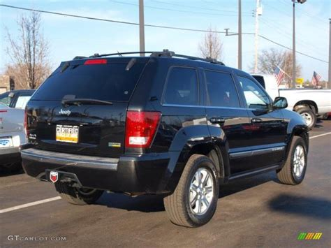 2008 Jeep Grand Limited Black 2008 Jeep Grand Limited 4x4 Exterior Photo