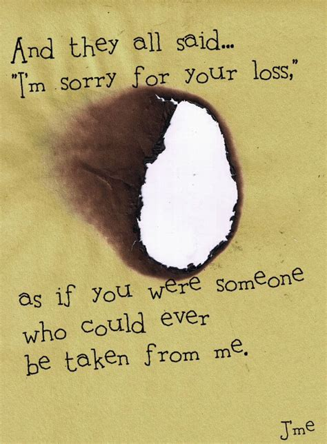 sorry for your loss sorry for your loss quotes quotesgram
