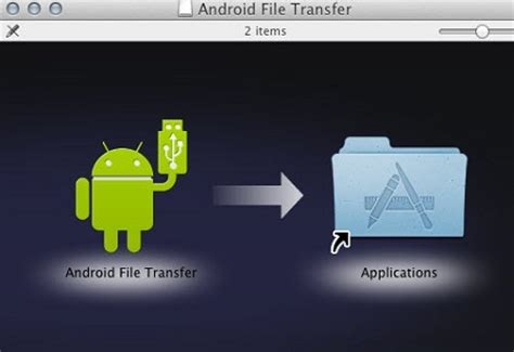 transfer   android  mac